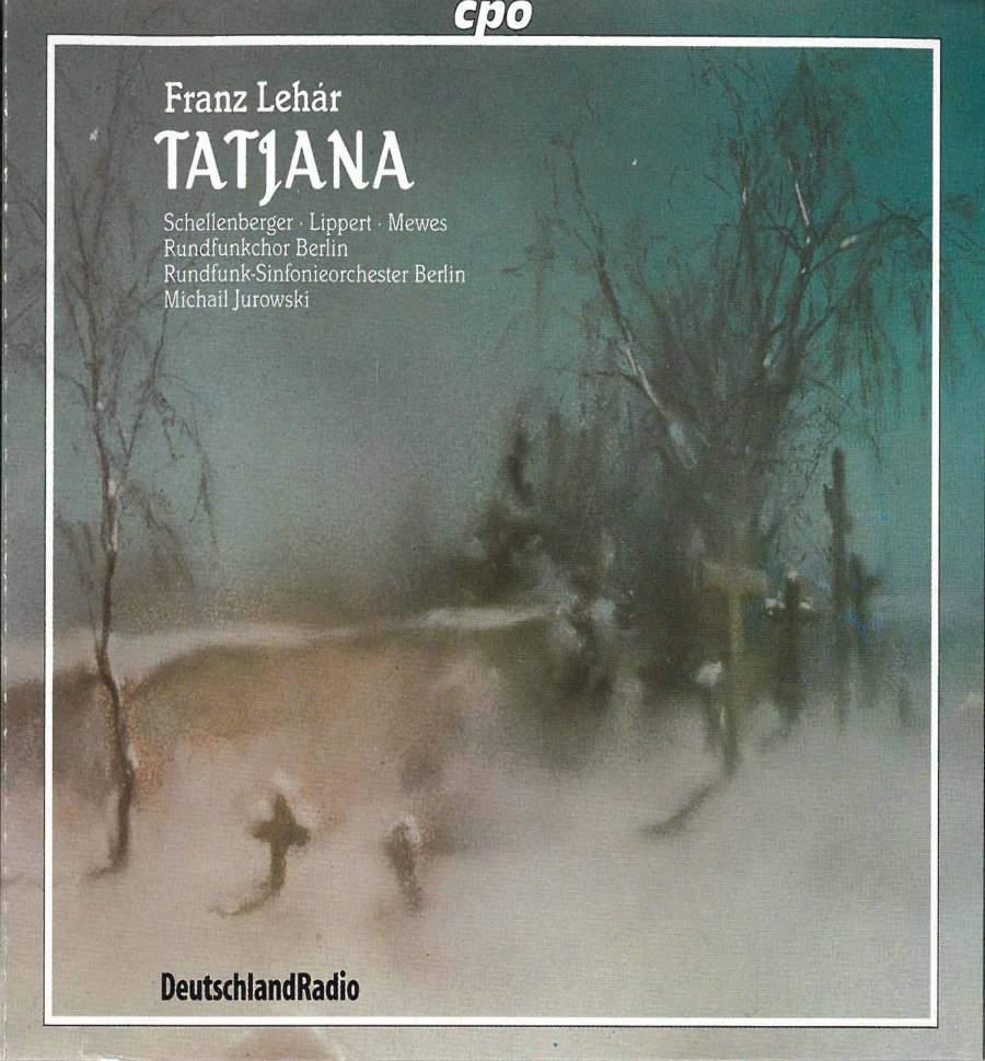 Lehar - Schellenberger, Lippert, Mewes, Michail Jurowski Tatjana Vinyl