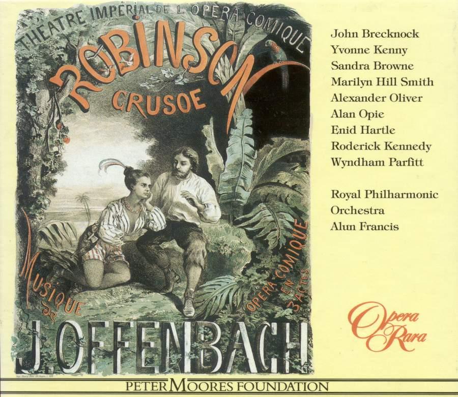 Offenbach - Brecknock, Kenny, Browne, Smith, Olier, Opie, Hartle, Kennedy, Parfitt, Alun Francis Robinson Crusoe