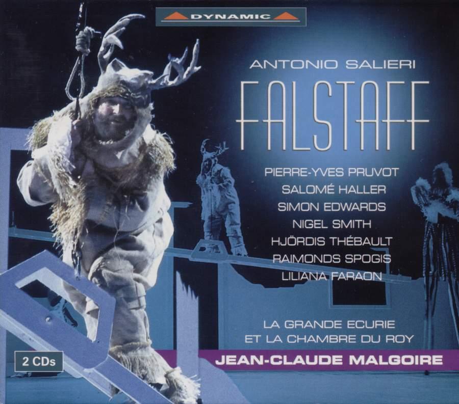 Salieri - Pruvot, Haller, Edwards, Smith, Thebault, Spogis, Faraon, Jean-Claude Malgiore Falstaff CD
