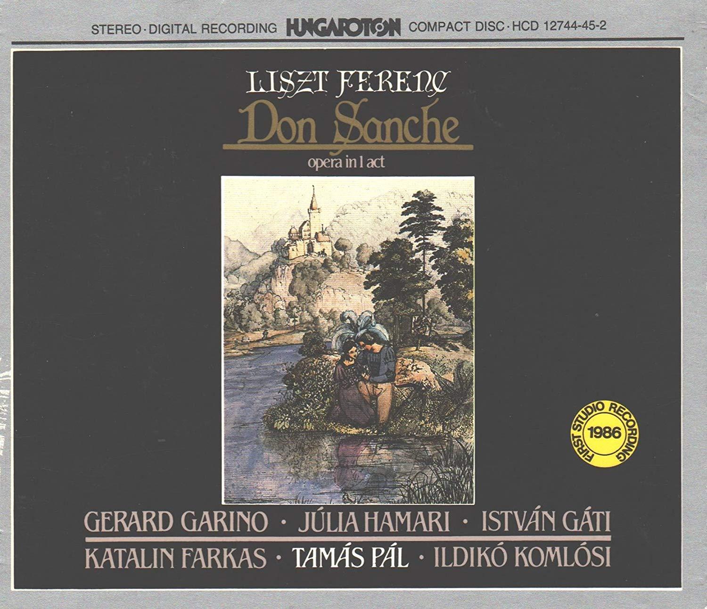 Liszt - Garino, Hamari, Gati, Farkas, Pal, Komlosi Don Sanche Vinyl