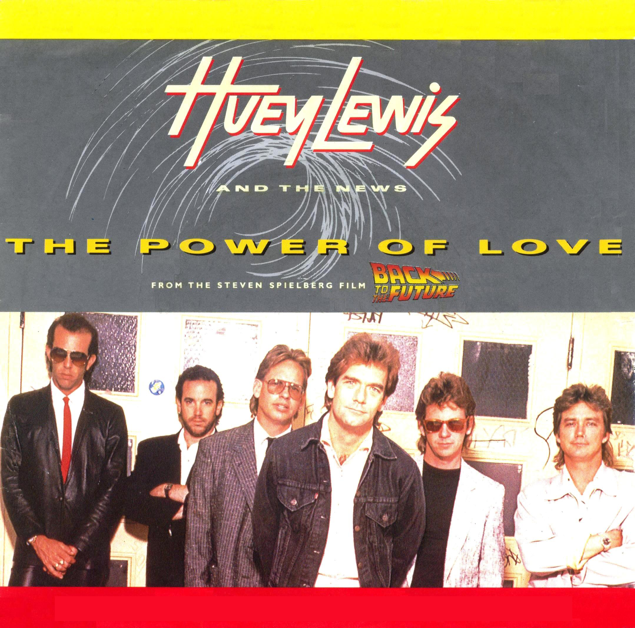 Huey Lewis And The News Power Of Love Vinyl