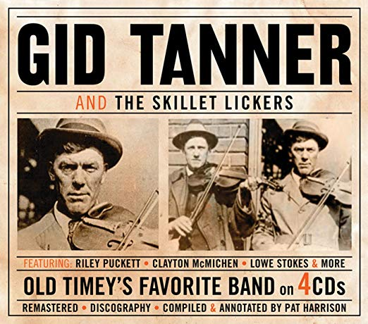 Tanner, Gid and the Skillet Lickers Old Timey's Favorite Band