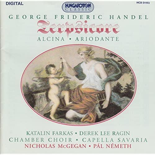 Handel - Farkas, Ragin, Nicholas McGegan, Pal Nemeth Terpsicore/  Alcina / Ariodante Vinyl