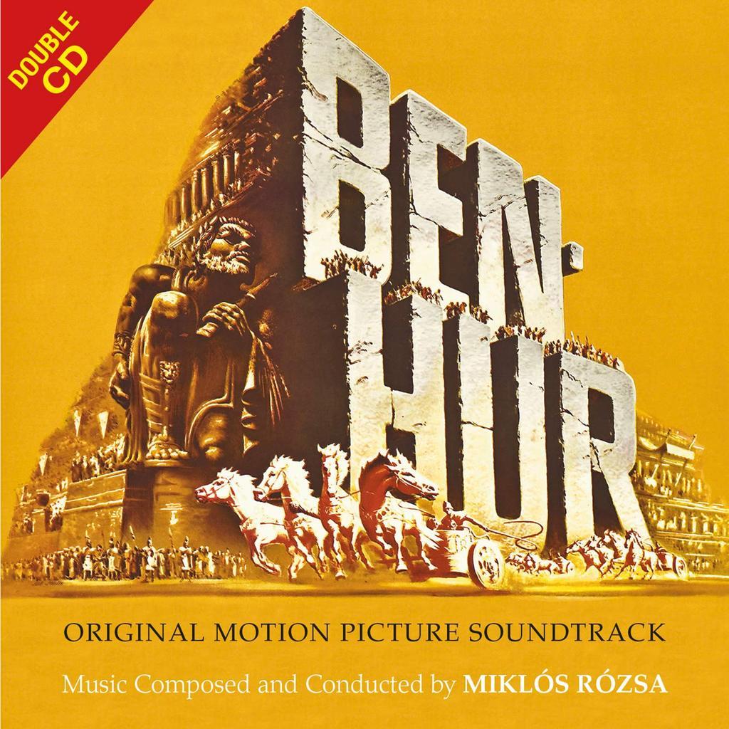 Miklos Rozsa Ben Hur - Original Motion Picture Soundtrack CD