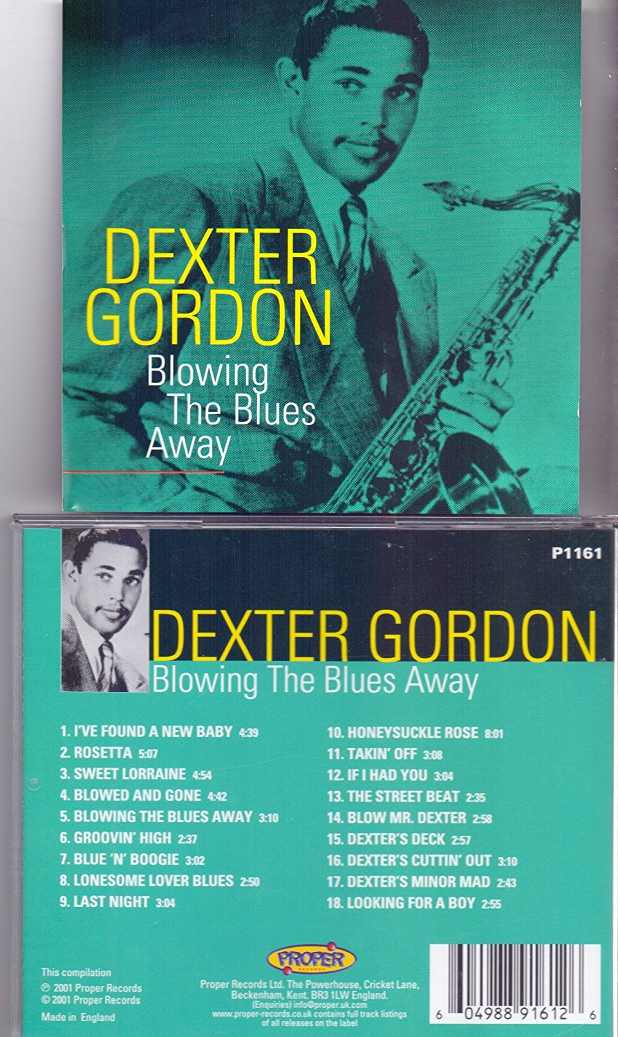 Gordon, Dexter Blowing The Blues Away