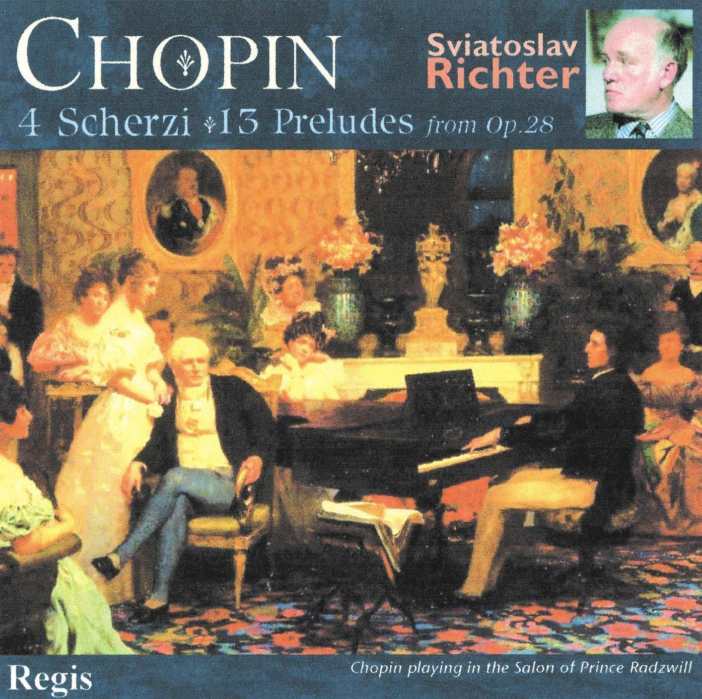 Chopin, Richter Scherzi & Preludes