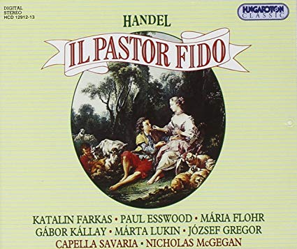 Handel - Farkas, Esswood, Flohr, Kallay, Lukin, Gregor, Nicholas McGegan Il Pastor Fido Vinyl