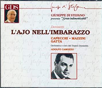 Donizetti - Capecchi, Mazzini, Gatta, Adolfo Camozzo L'Ajo Nell'Imbarazzo