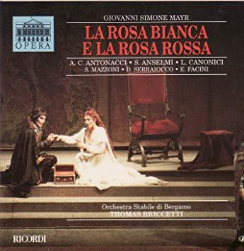 Mayr - Antonacci, Anselmi, Canonici, Mazzoni, Serraiocco, Facini, Thomas Briccetti La Rosa Bianca E La Rosa Rossa Vinyl