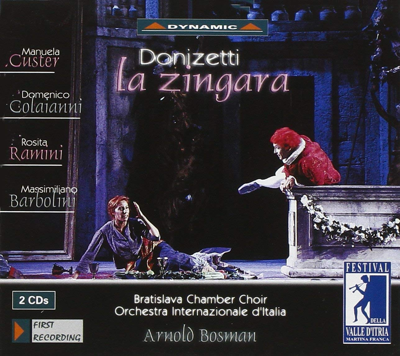 Donizetti - Custer, Colaianni, Ramini, Barbolini, Arnold Bosman La Zingara Vinyl