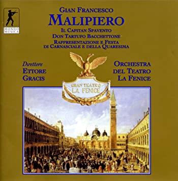 Malipiero - Ettore Gracis Trittico Vinyl