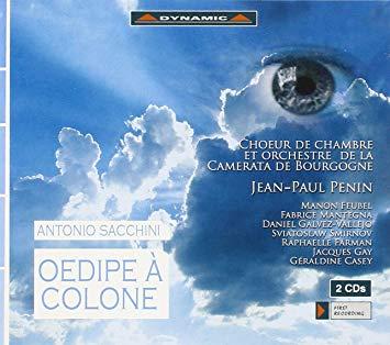 Sacchini - Jean-Paul Penin, Feubel, Mantegna, Galvez-Vallejo, Smirnov, Farman, Gay, Casey Oedipe A Colone CD