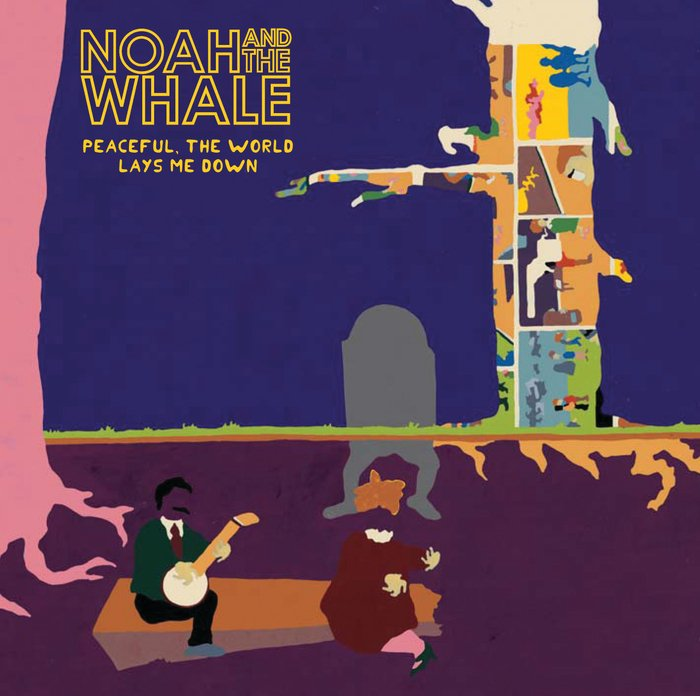 Noah & The Whale Peaceful, The World Lays Me Down CD