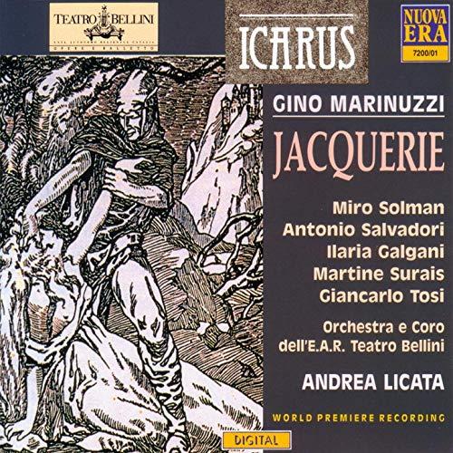 Marinuzzi - Solman, Salvadori, Galgani, Surais, Tosi, Andrea Licata Jacquerie Vinyl