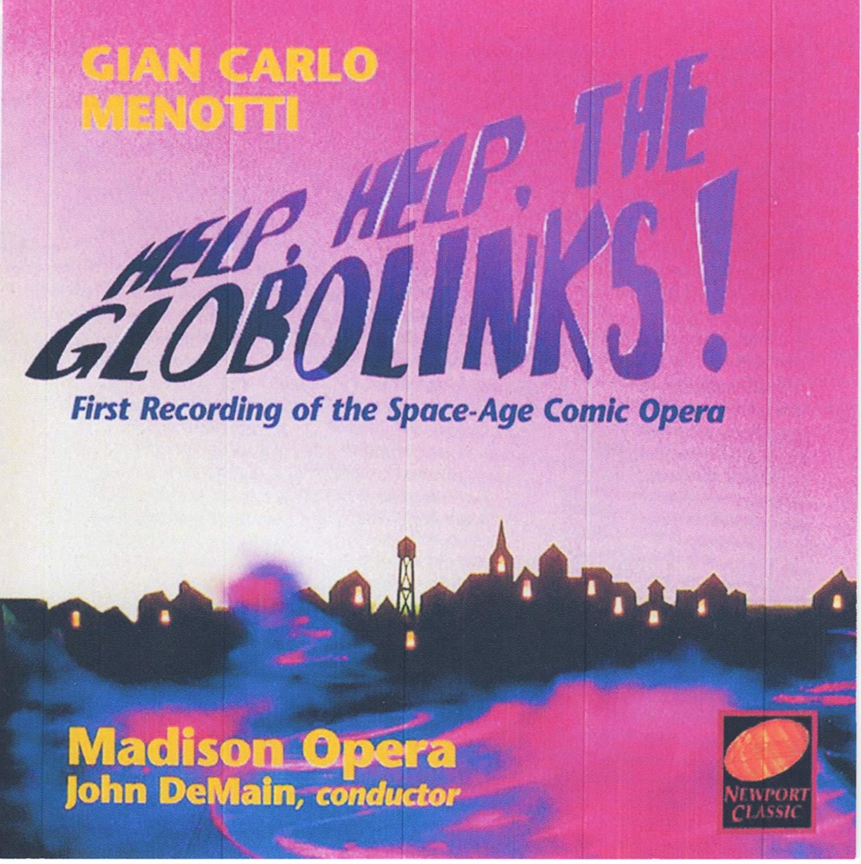 Menotti - John DeMain Help, Help, The Globolinks! Vinyl