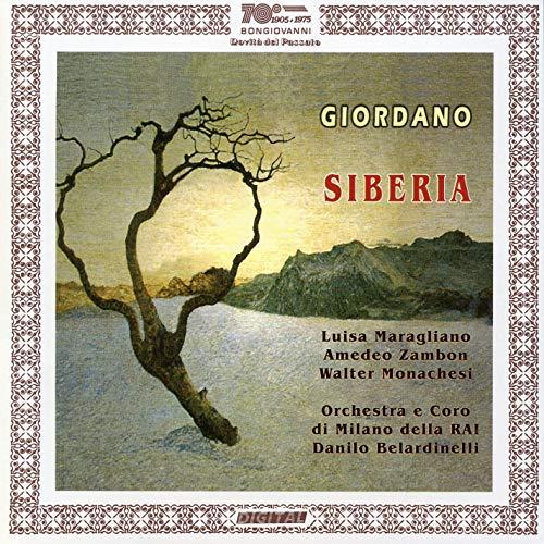 Giordano - Maragliano, Zambon, Monachesi, Danilo Belardinelli Siberia