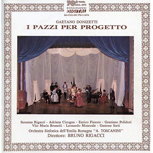 Donizetti - Bruno Rigacci, Cicogna, Fissore, Polidori, Brunetti, Monreale, Sarti I Pazzi Per Progetto Vinyl