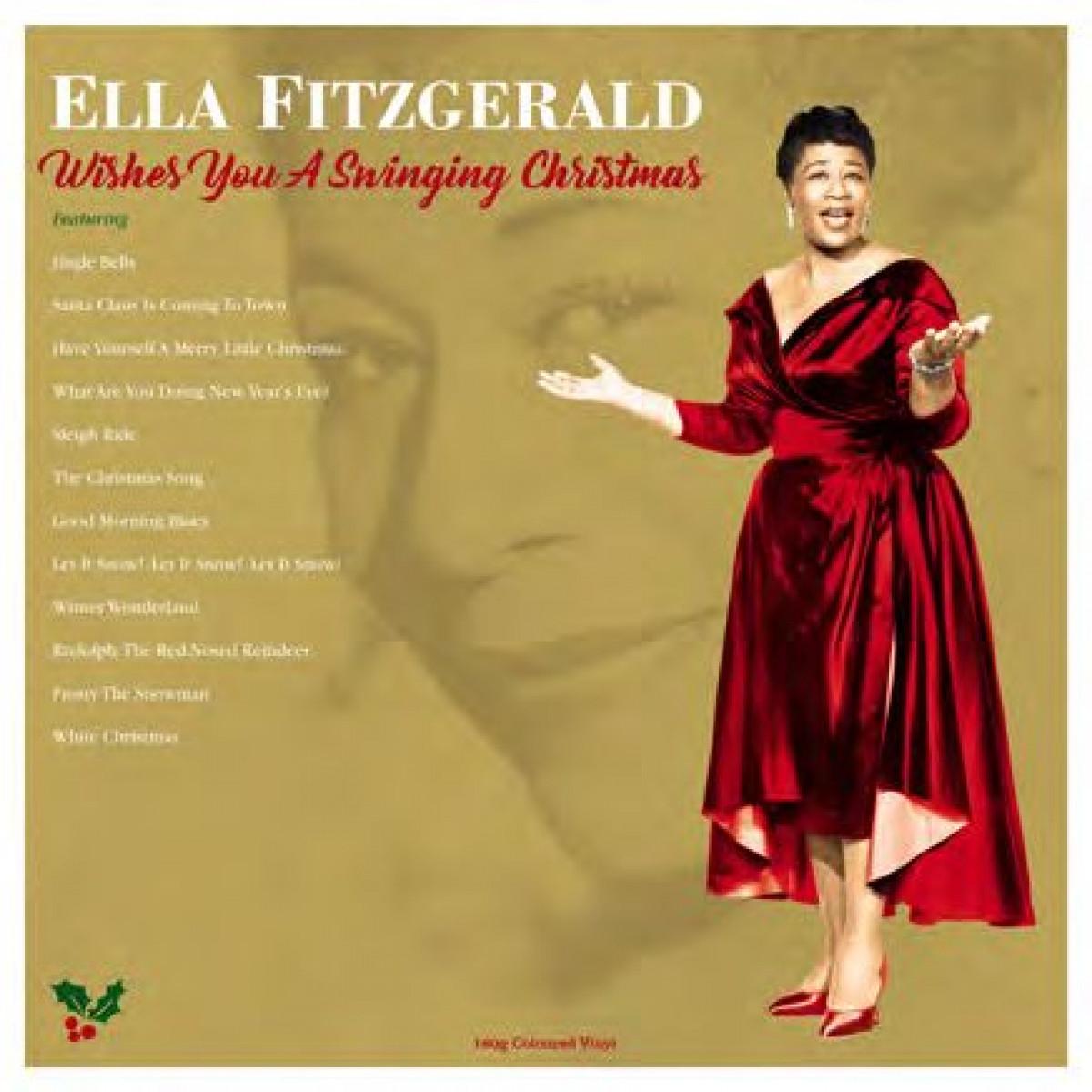 Ella Fitzgerald Wishes You A Swinging Christmas Vinyl