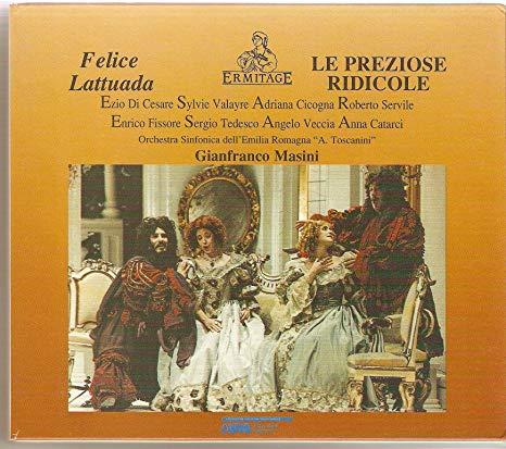 Lattuada - Cesare, Valayre, Cicogna, Servile, Fissore, Tedesco, Veccia, Catarci, Gianfranco Masini Le Preziose Ridicole Vinyl