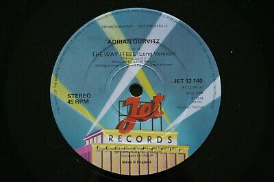 Gurvitz, Adrian The Way I Feel Vinyl