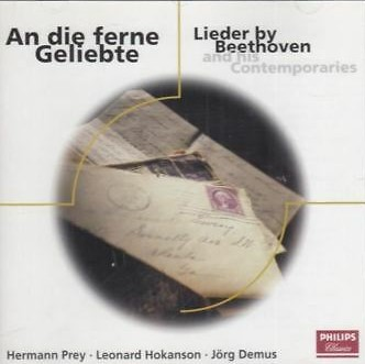 Various An die ferne Geliebte - Lieder by Beethoven and his Contemporaries Vinyl