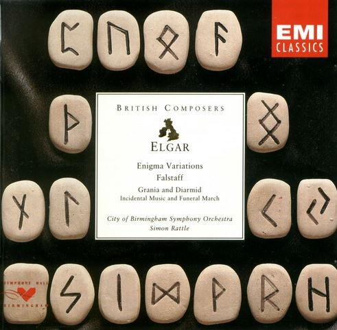 Elgar - Simon Rattle Enigma Variations / Falstaff
