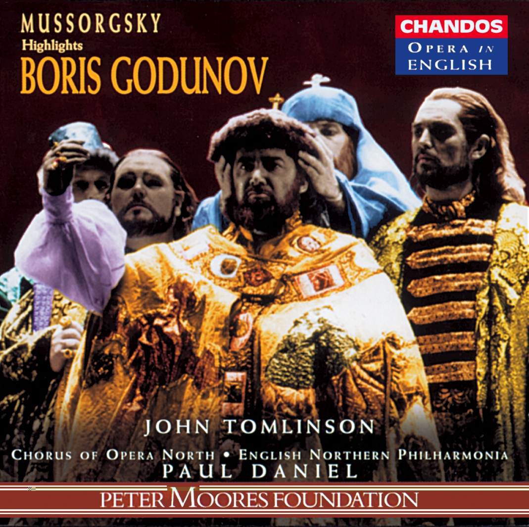 Mussorgsky - John Tomlinson, Chorus Of Opera North, English Northern Philharmonia, Paul Daniel Highlights Boris Godunov Vinyl