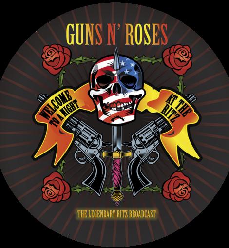 Guns N Roses The Legendary Blitz Broadcast Vinyl