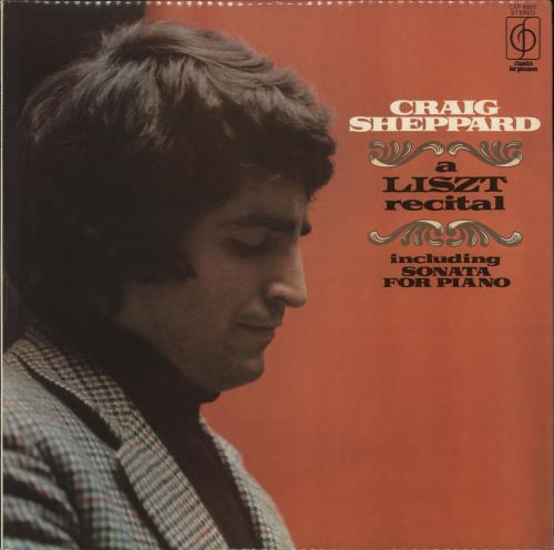 Liszt - Craig Sheppard A Liszt Recital Vinyl