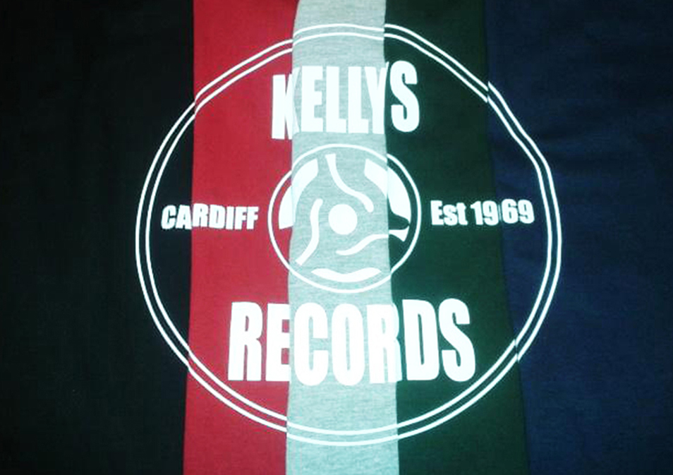 KELLYS RECORDS T-SHIRT - Ltd Edition  M / L / XL  - SIZES IN STOCK