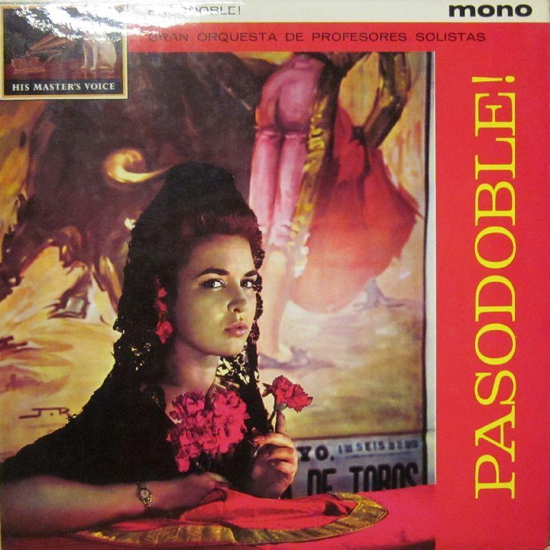 Gran Orquesta de Profesores Solistas Pasodoble! Vinyl