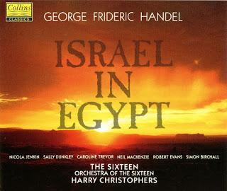 Handel - Nicola Jenkin, Sally Dunkley, Caroline Trevor, Neil Mackenzie, Robert Evans, Simon Birchall, Harry Christophers Israel In Egypt Vinyl