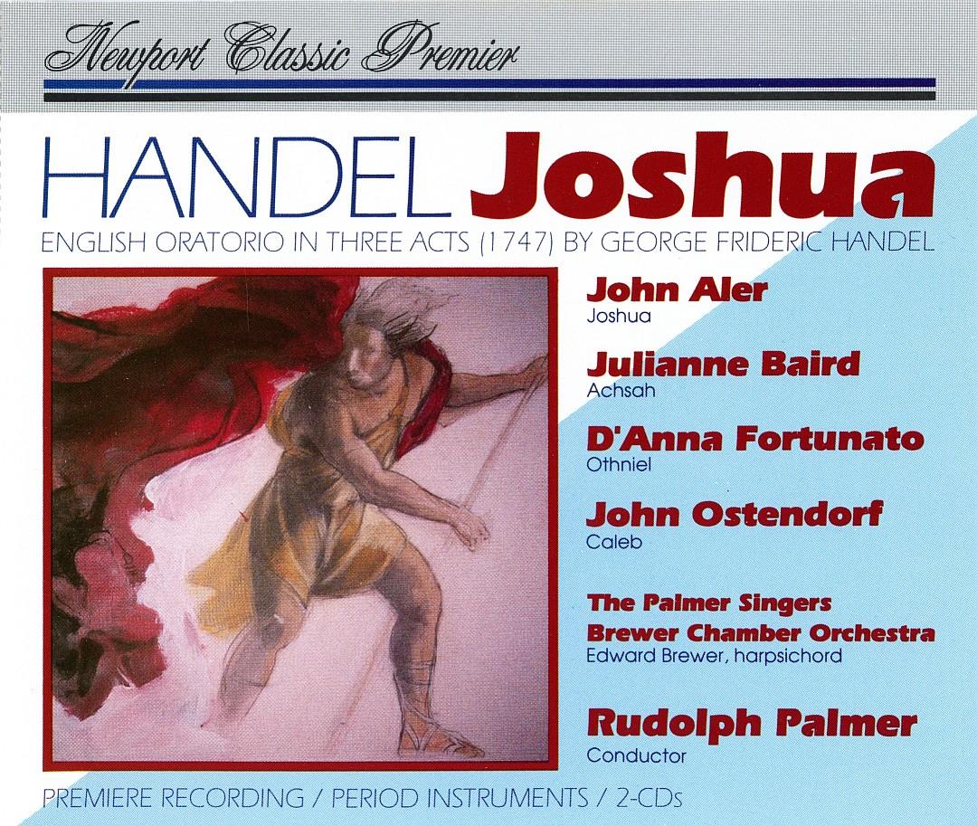 Handel - Aler, Baird, Fortunato, Ostendorf, Rudolph Palmer Joshua Vinyl
