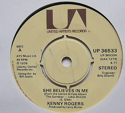 Rogers, Kenny She Believes In Me