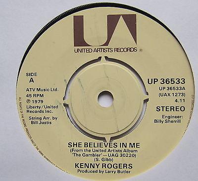 Rogers, Kenny She Believes In Me Vinyl