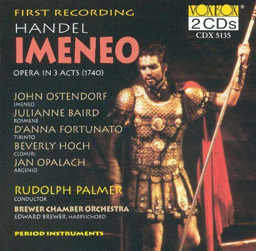 Handel - Ostendorf, Baird, Fortunato, Hoch, Opalach, Rudolph Palmer, Brewer Imeneo Vinyl