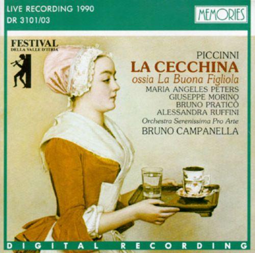 Piccinni - Peters, Morino, Pratico, Ruffini, Bruno Campanella La Cecchina, Ossia La Buona Figliola Vinyl