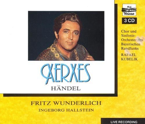Handel - Fritz Wunderlich, Ingeborg Hallstein Xerxes Vinyl