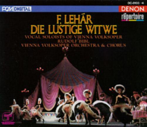 Lehar - Rudolf Bibl Die Lustige Witwe Vinyl