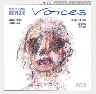 Henze - Gudrun Pelker, Frieder Lang, Johannes Kalitzke Voices
