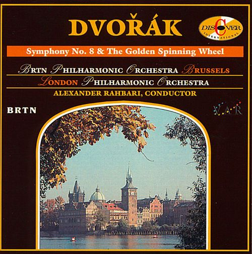 Dvorak - BRTN Philharmonic Orchestra Brussels, London Philharmonic Orchestra, Alexander Rahbari Symphony No. 9 & The Wild Dove Vinyl