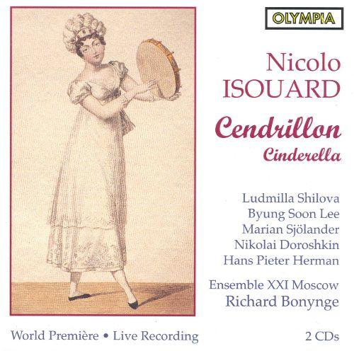 Isouard - Shilova, Soon Lee, Sjolander, Doroshkin, Herman, Richard Bonynge Cendrillon / Cinderella CD