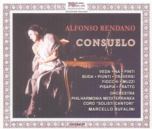 Rendano - Veda, Na, Pinti, Buda, Piunti, Traversi, Fiocchio, Muzzi, Pisapia, Fratto, Marcello Bufalini Consuelo Vinyl