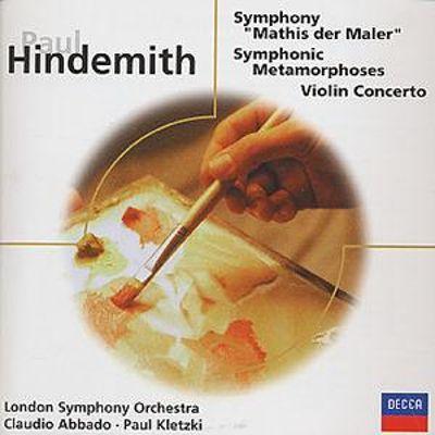 Hindemith - Claudio Abbado, Paul Kletzki Mathis der Maler / Violin Concerto