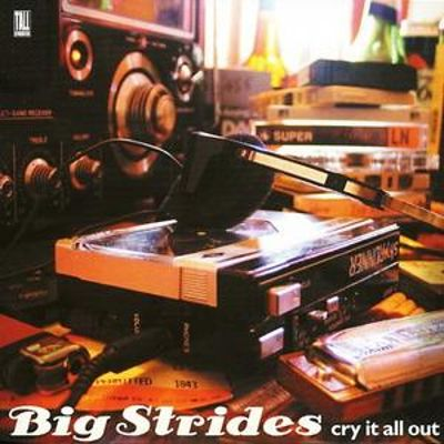 Big Strides Cry It All Out CD