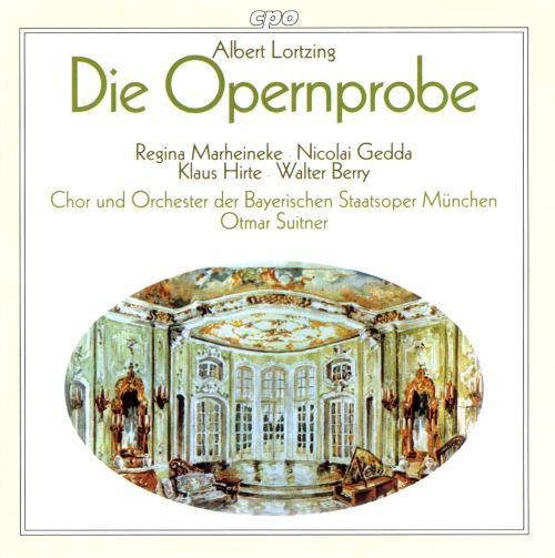 Lortzing - Regina Merheineke, Nicolai Gedda, Klaus Hirte, Walter Berry, Otmar Suitner Die Opernprobe Vinyl