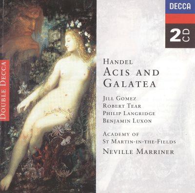 Handel - Jill Gomez, Robert Tear, Philip Langridge, Benjamin Luxon, Neville Marriner Acis And Galatea Vinyl
