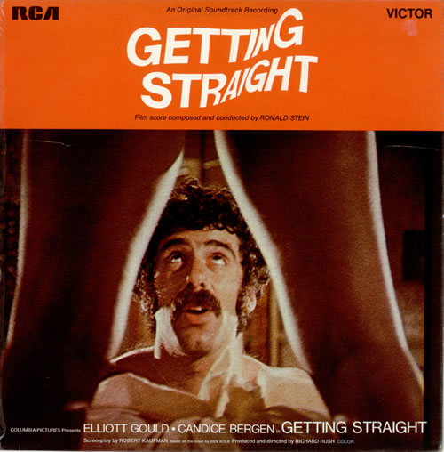 Ronald Stein Getting Straight (Original Soundtrack) Vinyl