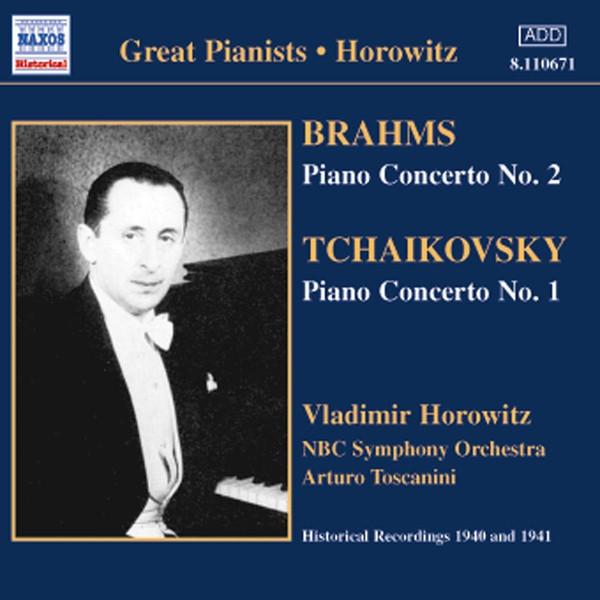 Brahms, Tchaikovsky, Vladimir Horowitz Piano Concerto No. 2 - Piano Concerto No. 1