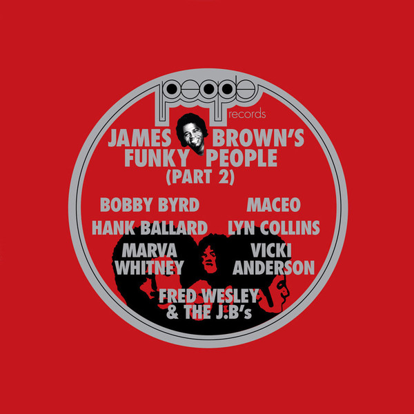 Various Artists James Brown's Funky People (Part 2) Vinyl